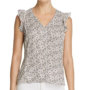 Rebecca Taylor • Silk Floral Sleeveless Top